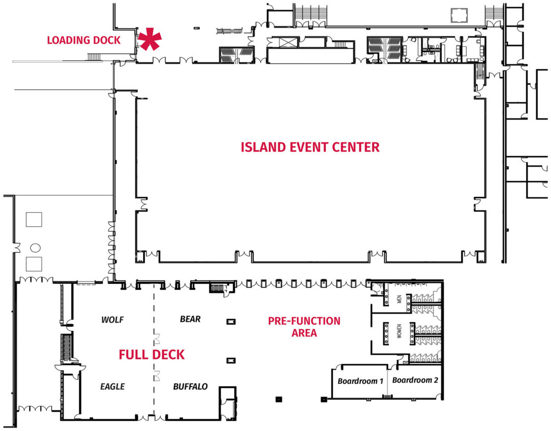 Trade Show Diagram-All Event Space