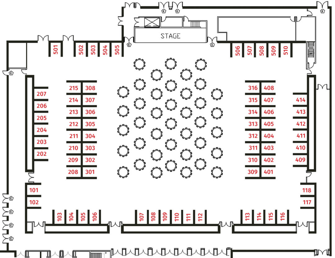 Trade Show Diagram-Island Event Center